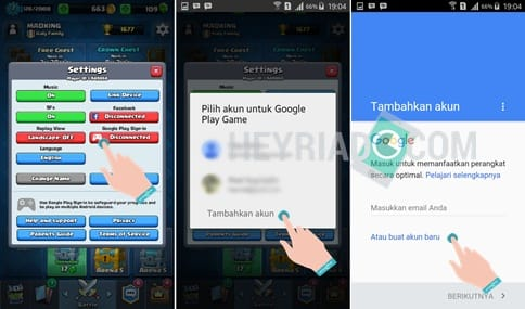 Cara bermain 2 Akun Clash Royale di HP Android