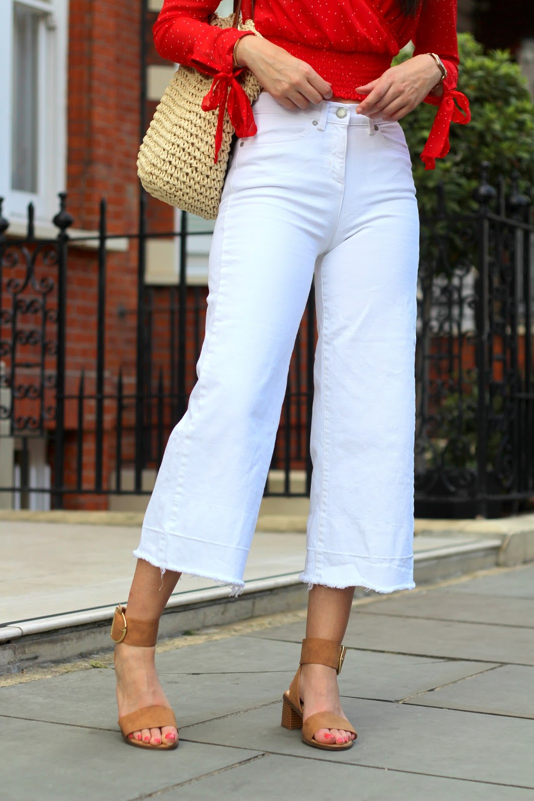 white denim culottes next peexo