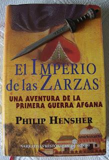 Portada del libro El imperio de las zarzas, de Philip Hensher
