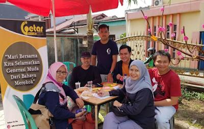 Getar Lampung Tampung Curhatan Anak Muda Soal Bahaya Rokok