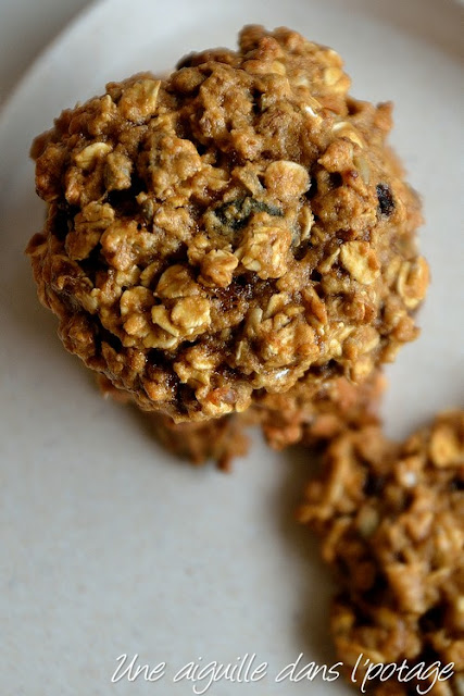 Muesli cookies à la compote de pomme (vegan)