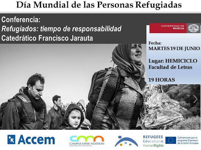 """Conferencia """"Refugiados: tiempo de responsabilidad"""""""