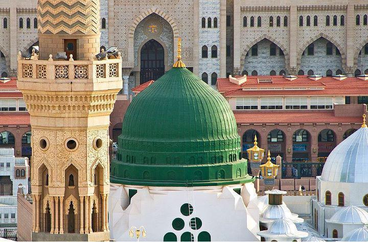 Masjid Nabvi Wallpapers - Madina Wallpapers | Free Islamic ...