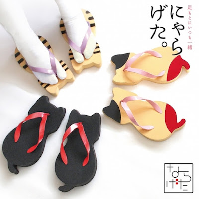 Cat Themed Sandals
