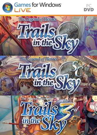 The Legend of Heroes: Trails in the Sky Collection (2014-2017) PC Full