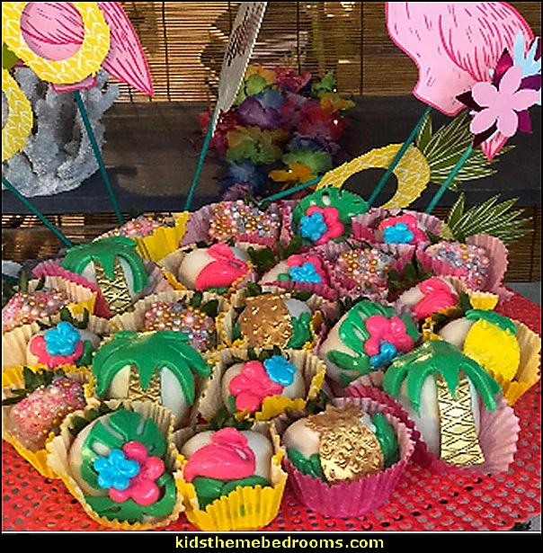 Hawaiian Tropical Rain Forest Theme Cake Fondant Mold Set