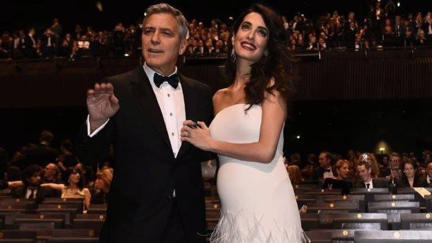 George and Amal Clooney, entertainment news,celebrity news