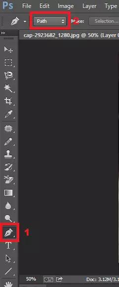 Pen Tool Di Adobe Photoshop CC