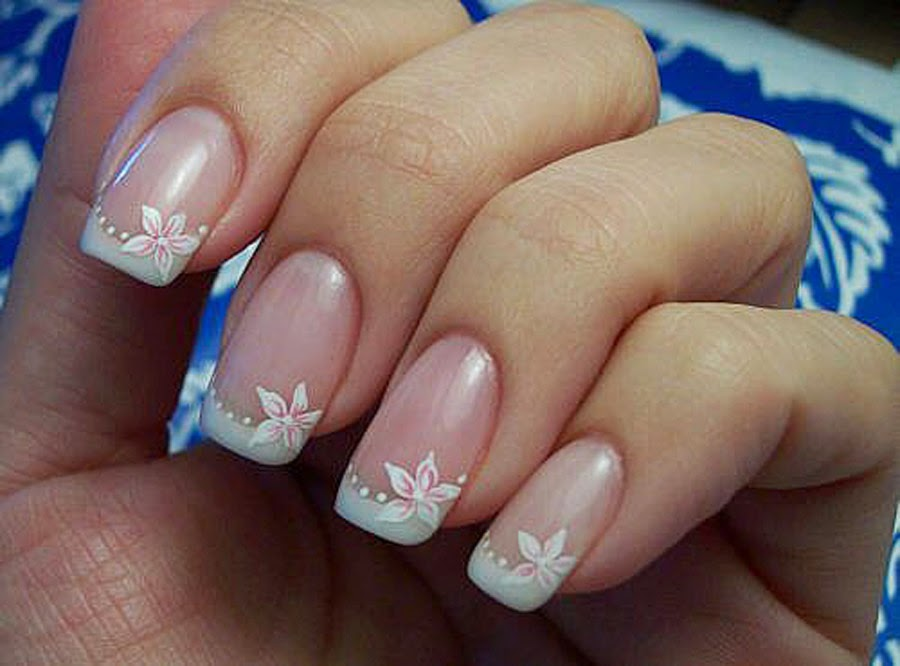 Simple Wedding Nail Arthttp Nails Side Blogspot Com