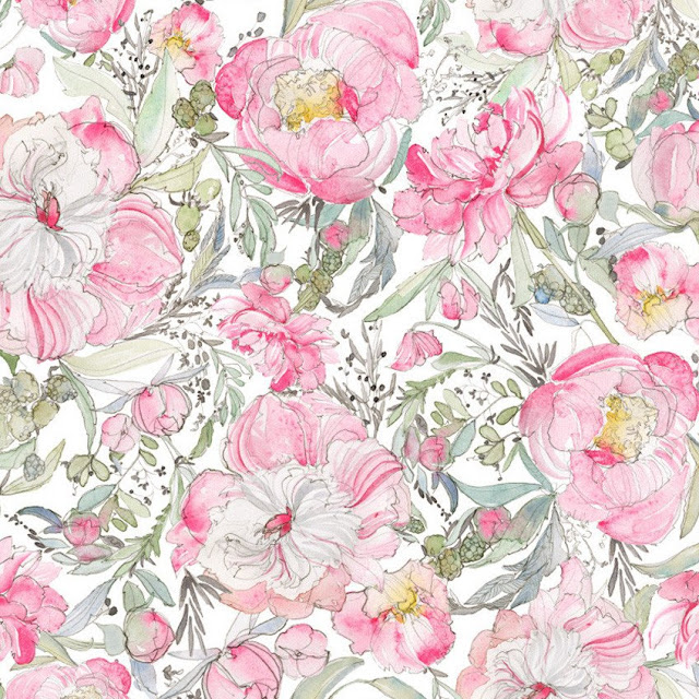 Kirsty Rice Floral Fabric