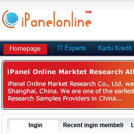 Ipanel online - Survey online dibayar dollar