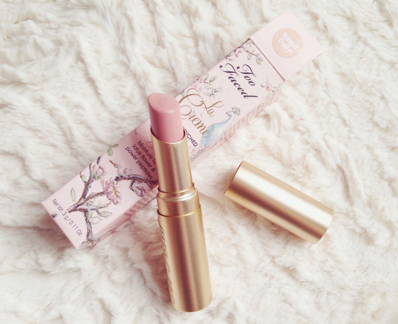 Too Faced La Crème Lip Cream 'Naked Dolly'