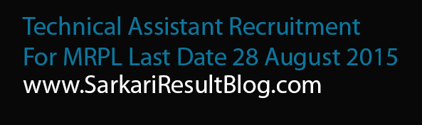 Technical Assistant Recruitment