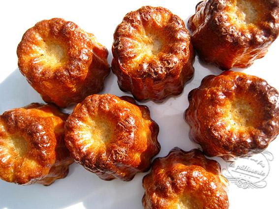 recette des cannelés bordelais