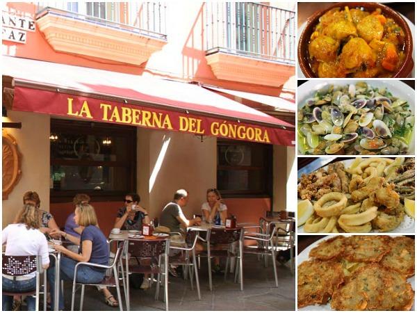 La taberna del Gongora bar de tapas Sevilla