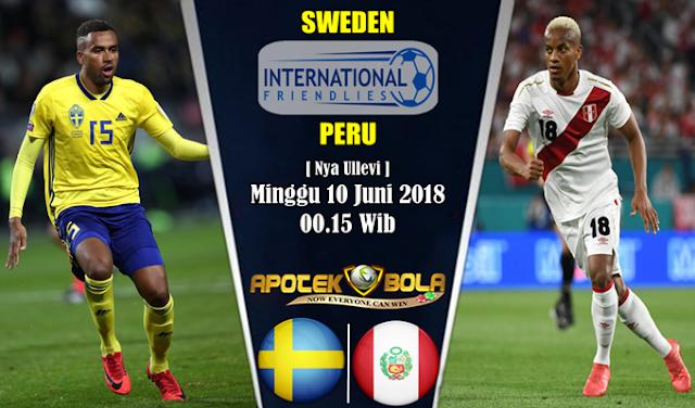 Prediksi Sweden vs Peru 10 Juni 2018