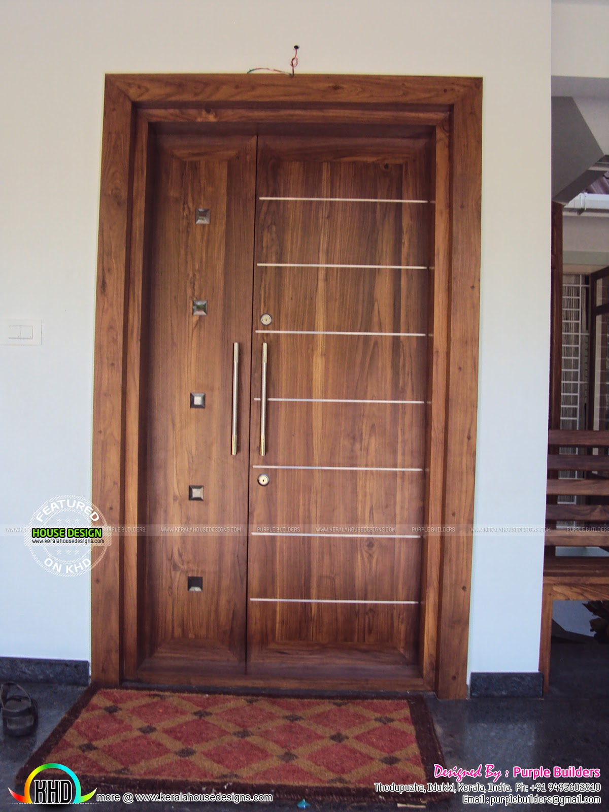 Finished home with interior - Kerala home design and floor ...