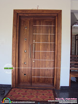Kerala Home Design Front Door