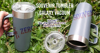 Mug Tumbler Promosi, Galaxy Vacuum Tumbler, Galaxy Vacuum Cup Stainless Steel Travel Mug