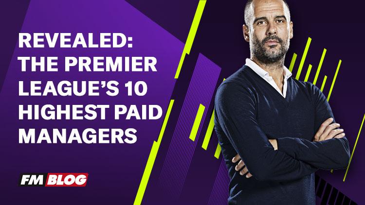 The Premier League's 10 Highest Paid Managers