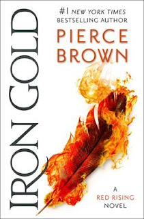 Iron Gold, Red Rising Saga #4, Pierce Brown, InTorilex, Book Scoop