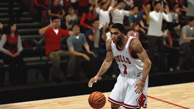 NBA 2K13 Derrick Rose Bulls Roster Injured