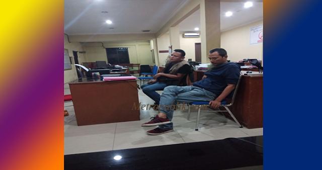Pecahkan Kaca di Hotel Istana Kedua Pria Ini di Tangkap Polisi