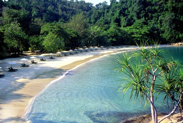 Beach at Pangkor Laut