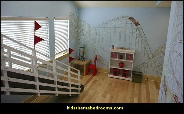 Decorating theme bedrooms maries manor ferris wheel for Amusement park decoration ideas
