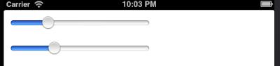iOS programmatically create UISlider
