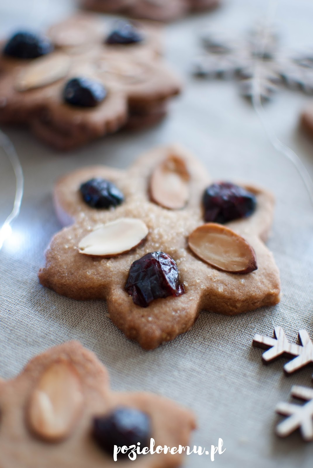 Kruche ciasteczka cynamonowe (zamiast pierniczków)