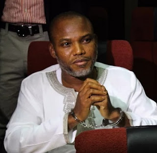 'I'll 'BOMB' Nigeria Completely Out Of Exixitence' - Nnamdi Kanu Issues Fresh Threat