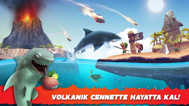 Hungry Shark Evolution Güncelleme Detayları