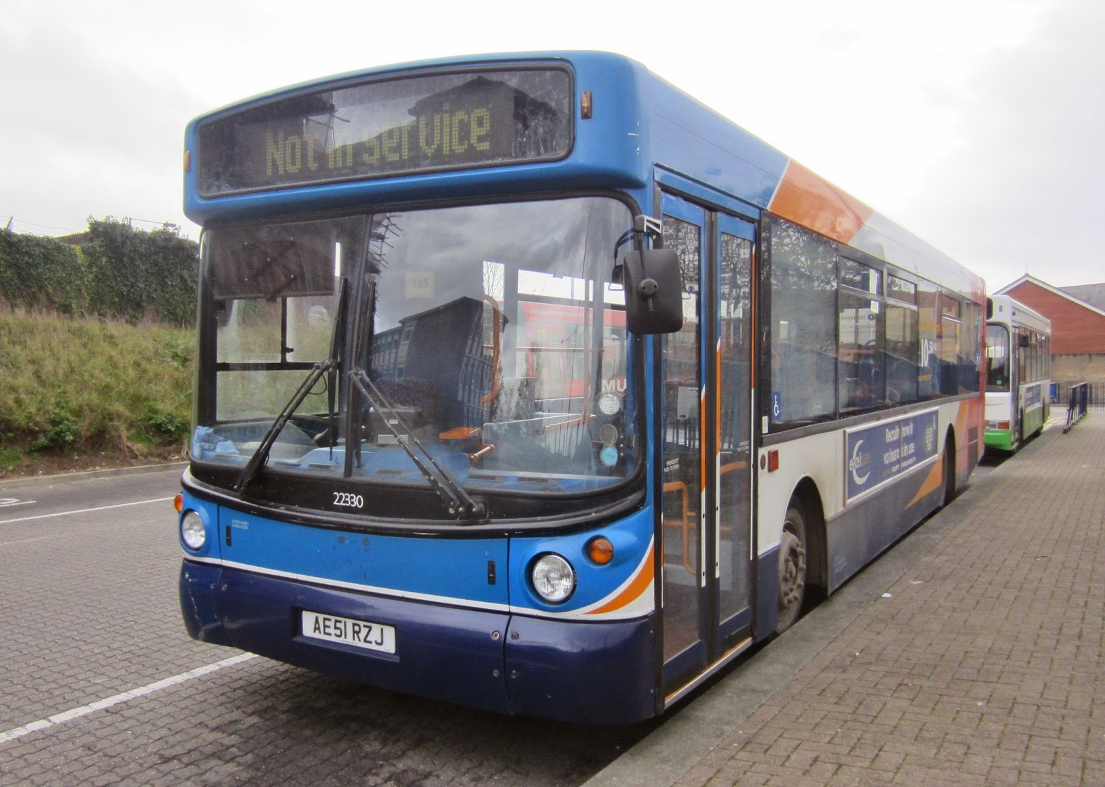 East Norfolk And East Suffolk Bus Blog Saturday In