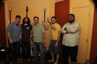 DTC Band in Recording Studio