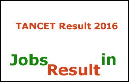 TANCET Result 2016