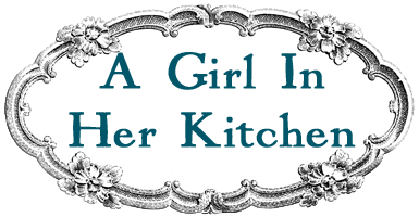 A Girl In Her Kitchen