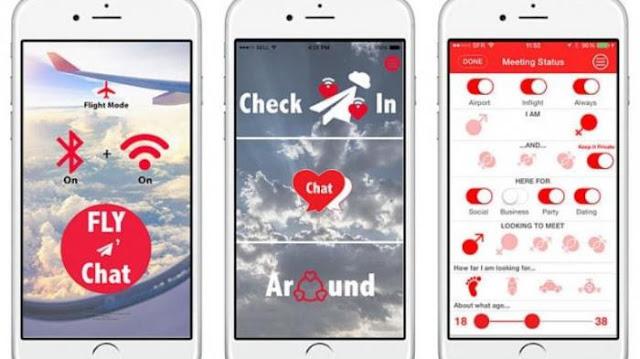 AirDates - Aplikasi Ini Bisa Bantu Cari Jodoh Saat Dalam Penerbangan, Begini Cara Kerjanya