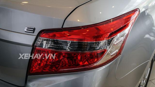 vios 15e cvt 8 - Cận cảnh Toyota Vios 1.5E CVT mới ra mắt Việt Nam