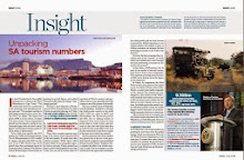 4 Page feature on SA Tourism in June 2013 Finweek
