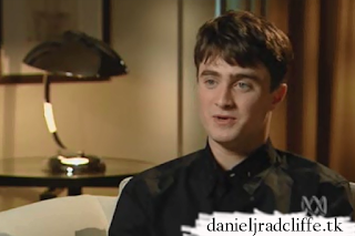 Daniel Radcliffe on The 7.30 report