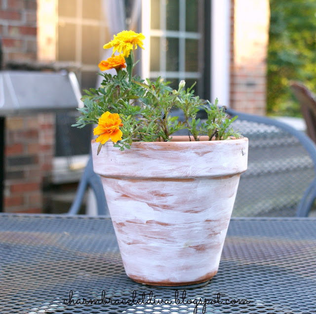 how to age terra cotta clay pots