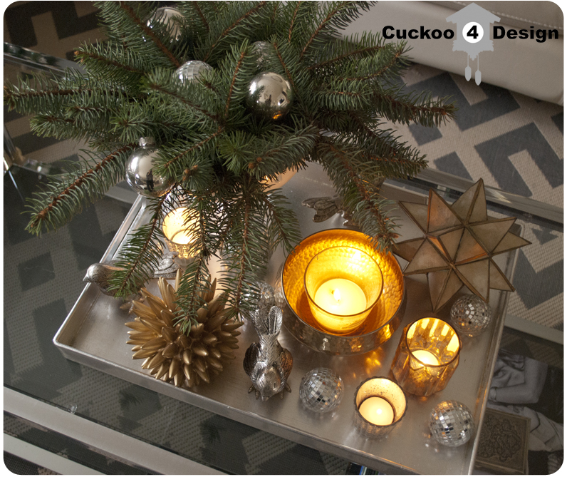 Christmas coffee table decor cuckoo design