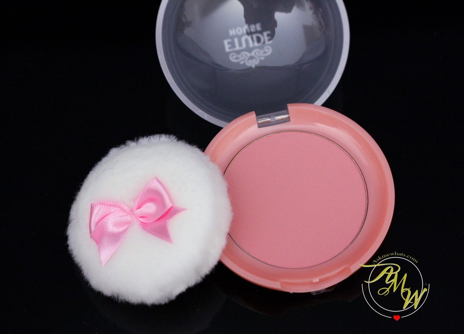 Askmewhats Top Beauty Blogger Philippines Skincare Makeup Review Etude House Lovely Cookie Blusher A Photo Of In Peach Choux Wafer