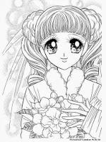 Ahmedatheism Gambar Mewarnai Anime Perempuan