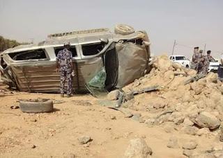 حـادث مروري يكشف غموض جريمة مقتـل مواطن وسرقة سيارته بالأردن 