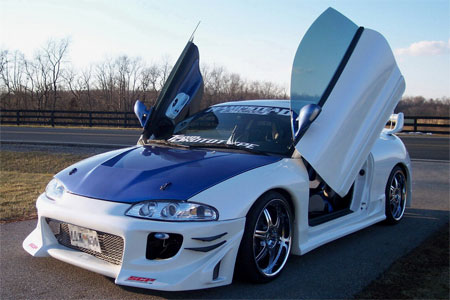 Sports Car Mitsubishi Eclipse