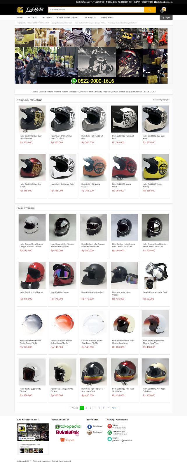 jasa desain website toko online jember