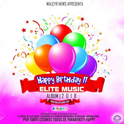 Walcyr News - Happy Birthday Elite Music Álbum