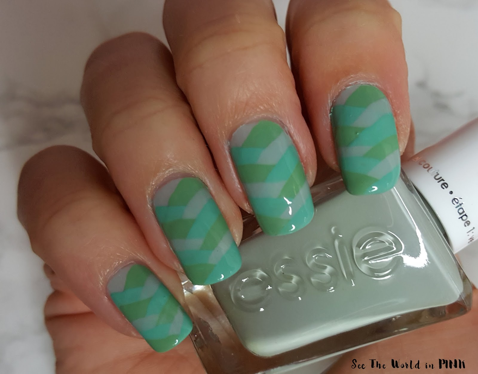 Manicure Monday - Braided Nail Art!